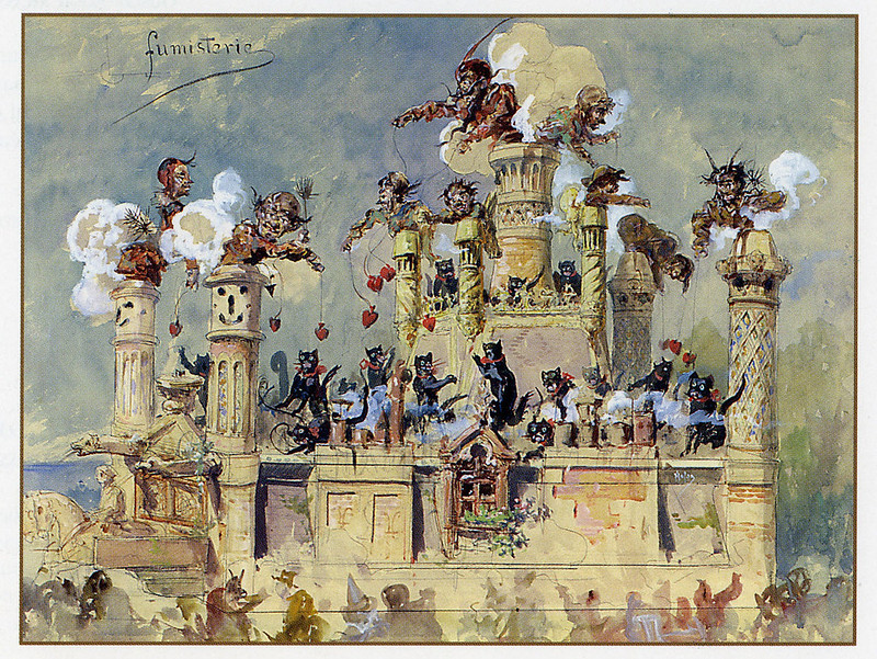 Gustav Adolf Mossa - Parade Design 3