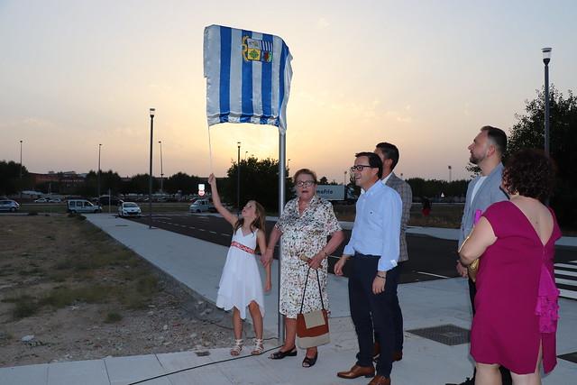 Descubrimiento de la placa de la calle dedicada a Antonia Tejeda