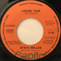 STEVE MILLER:FLY LIKE AN EAGLE(LABEL SIDE-B)