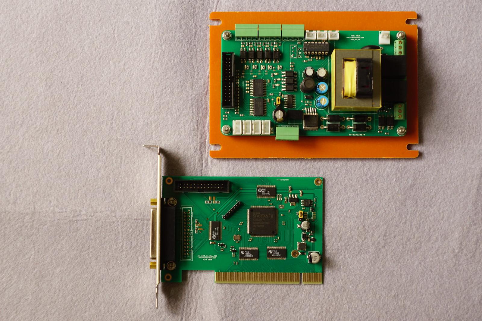 Card PCI motion control dùng cho Linuxcnc