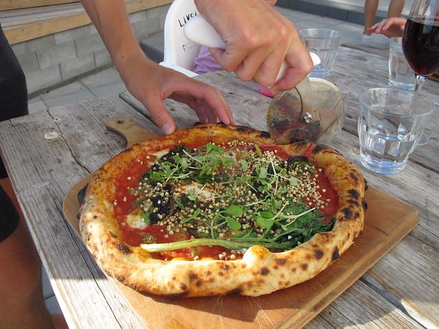 thursday, pizza, the new red, for dinner at mastio, ön, limhamn, malmö