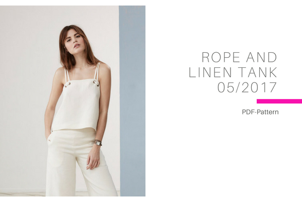Rope and Linen Tank