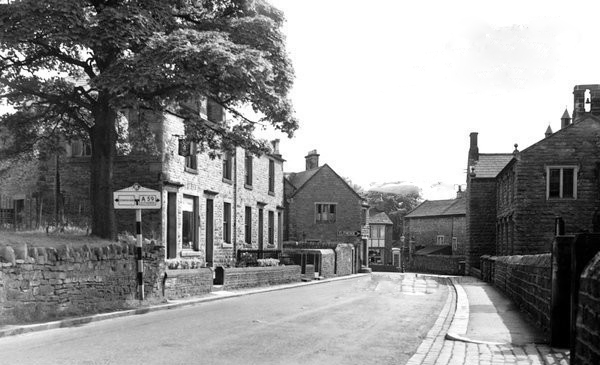 Chatburn to Gisburn road circa 1950