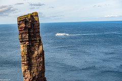 The Old Man Oh Hoy Orkney & Northlink Ferry from Stormness to Scrabster.