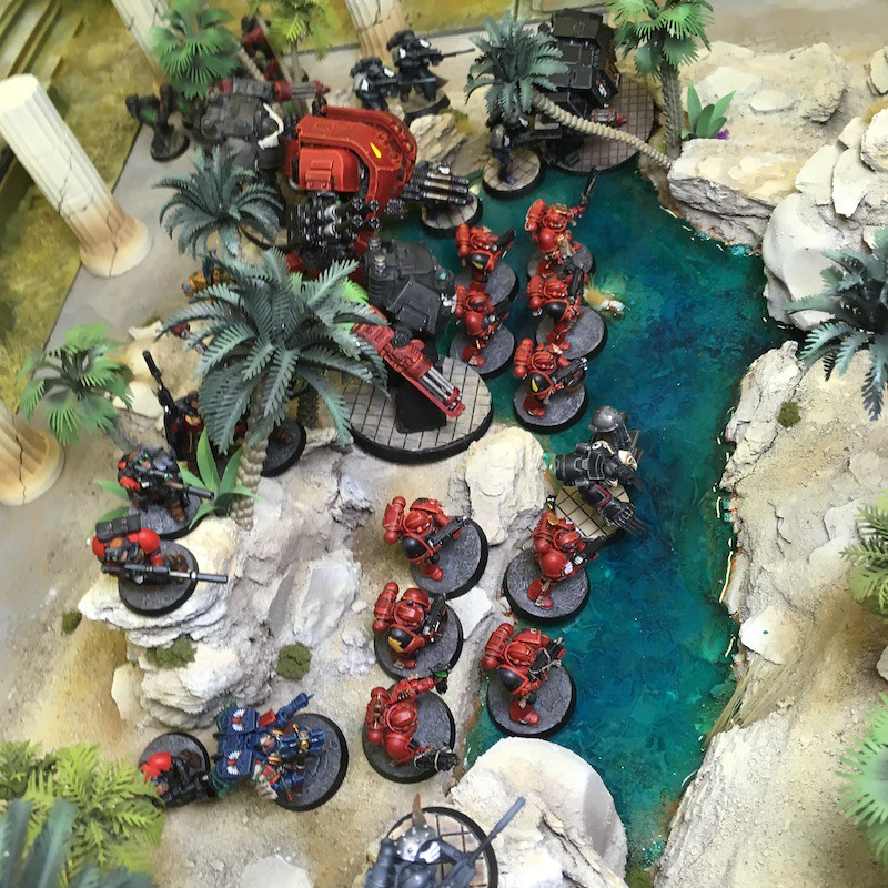 Medal of Colors Indomitus Crusade Battles-8