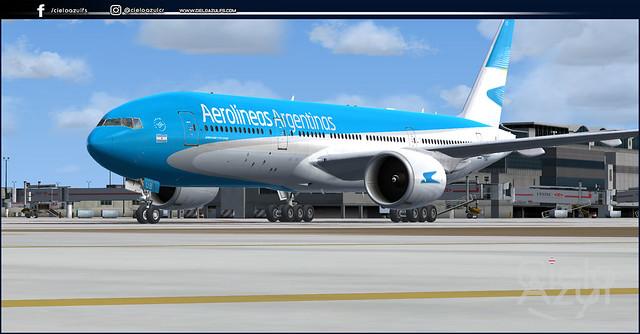 Aerolíneas Argentinas (LV-HUB & LV-HUP) v1.2