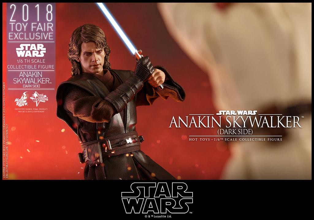 超逼真的魔化頭雕!! Hot Toys – MMS486 –《星際大戰三部曲:西斯大帝的復仇》安納金·天行者 (黑暗面) Anakin Skywalker (Dark Side)  1/6 比例人偶作品【香港動漫節限定】