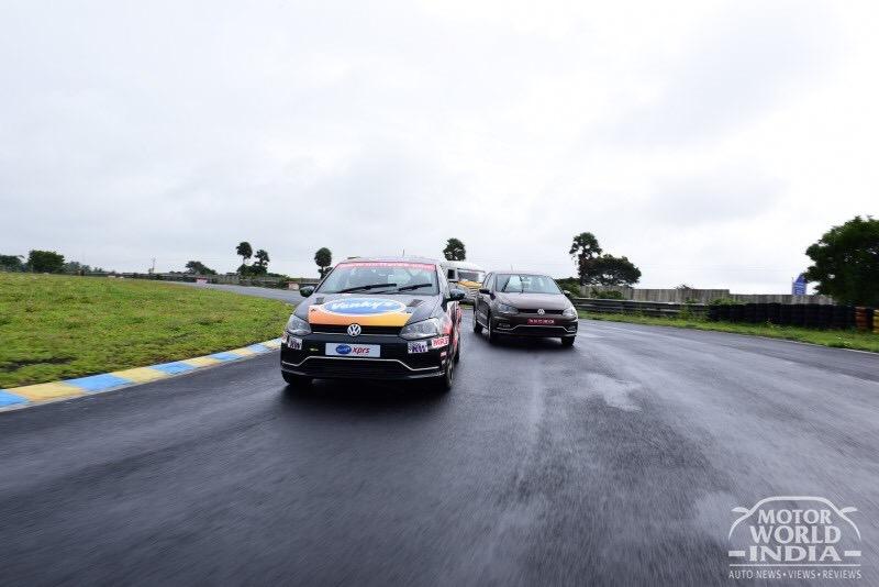 Volkswagen Ameo Race Track