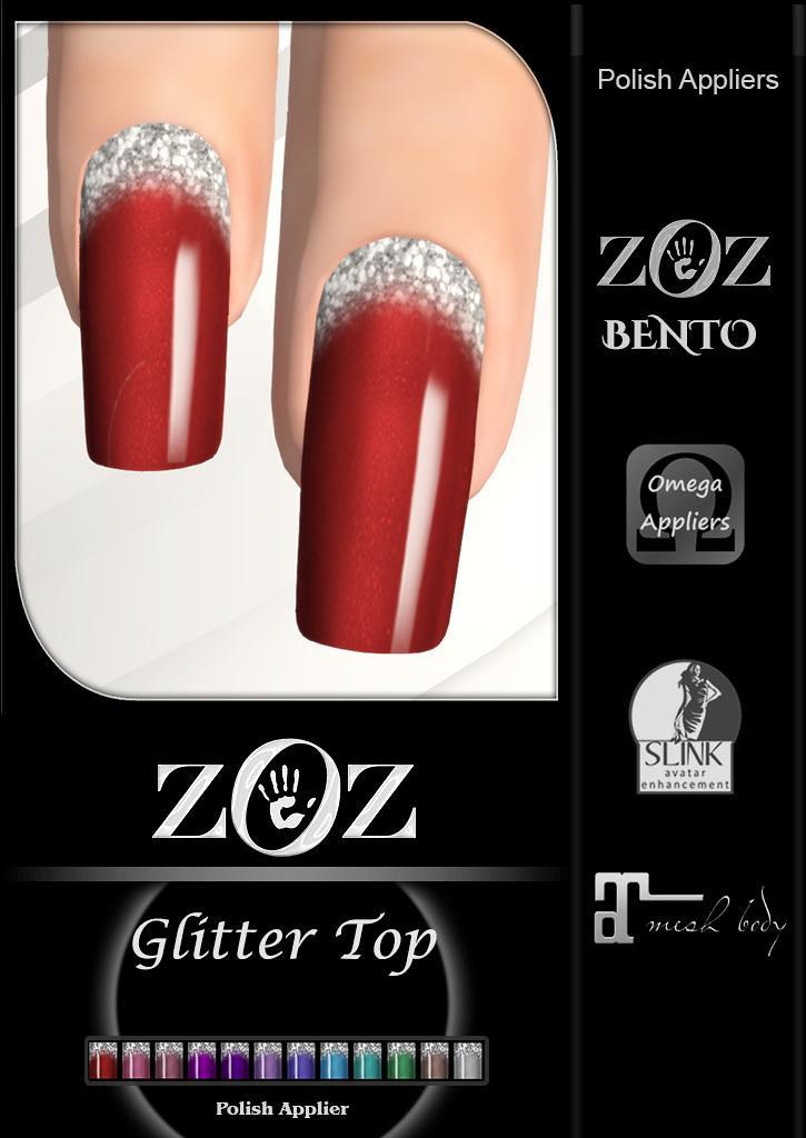 {ZOZ} Glitter Top pix L - TeleportHub.com Live!
