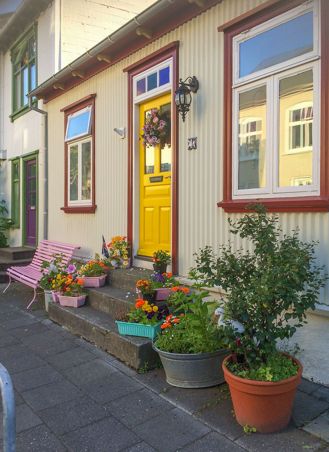 The cutest little house in Reykjavik