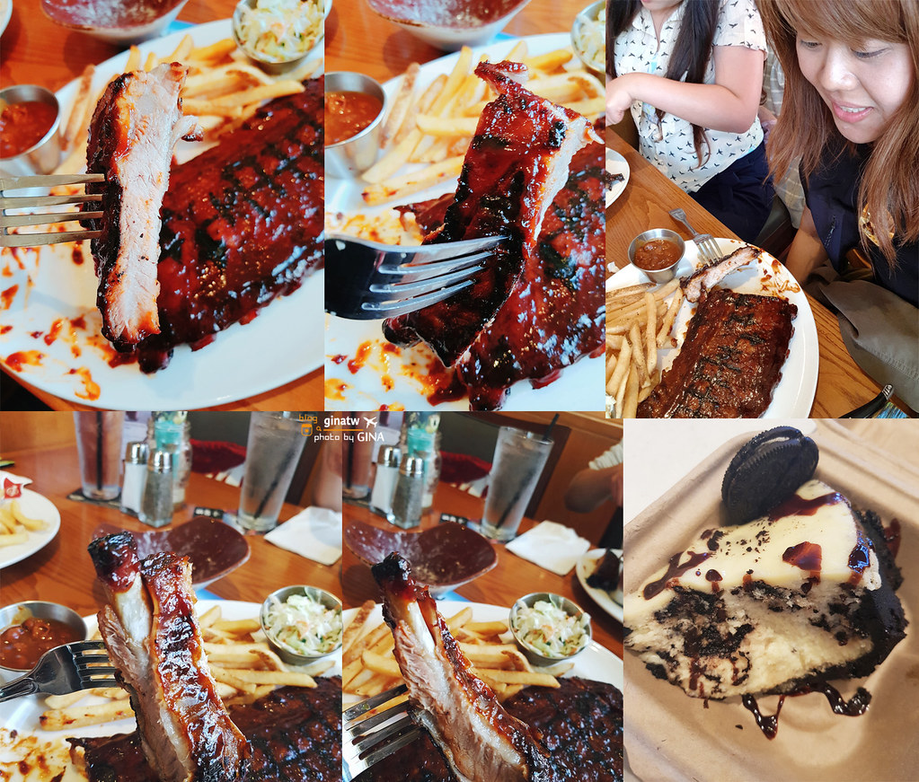 美國自助/自駕》美西加州 好萊塢環球影城美食篇 洛杉磯Hard Rock Cafe硬石搖滾主題餐廳 @Gina環球旅行生活