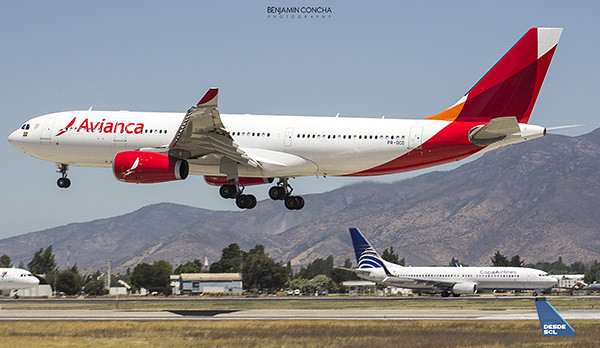 Avianca Brasil A330-200 Copa Airlines (Benjamín Concha)