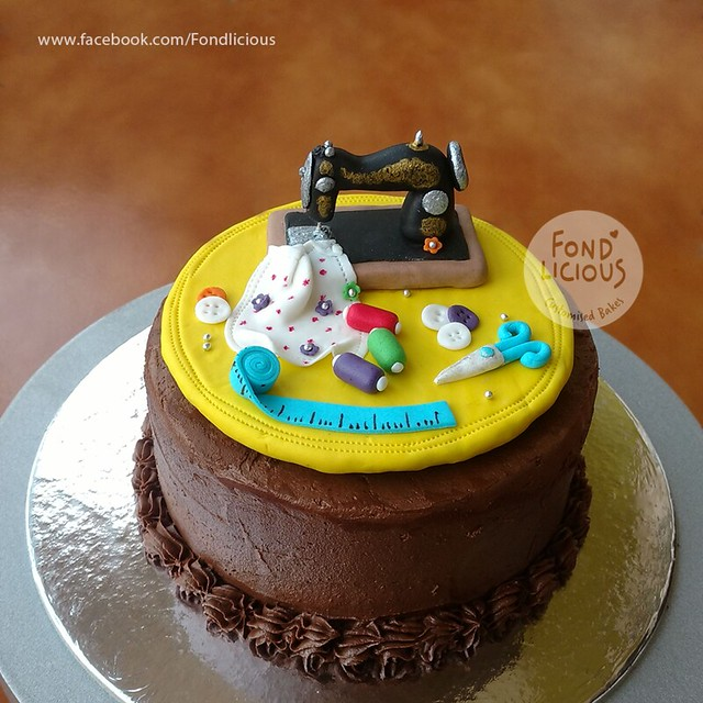 Cake by Chethana M G of Fond'licious - Customised Bakes