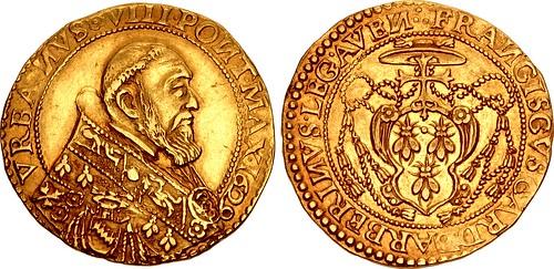 Gold Quadrupla of Urban VIII
