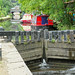 Rochdale Canal at Hebden Bridge.