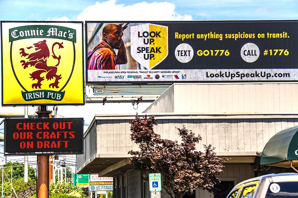 LOOK UP SPEAK UP--Pennsauken