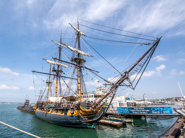 HMS Surprise, The Maritime, Nikon D7100, AF-S DX Nikkor 10-24mm f/3.5-4.5G ED