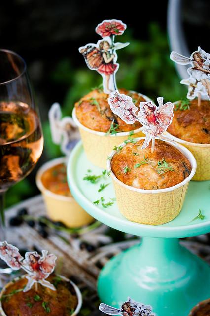 Midsummer Night's Dream Muffins
