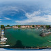 (360x180) Lindau Bodensee from above
