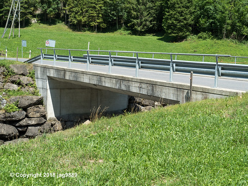 MUO260 Route 1 Road Bridge over the Muota River, Bisisthal, Canton of Schwyz, Switzerland
