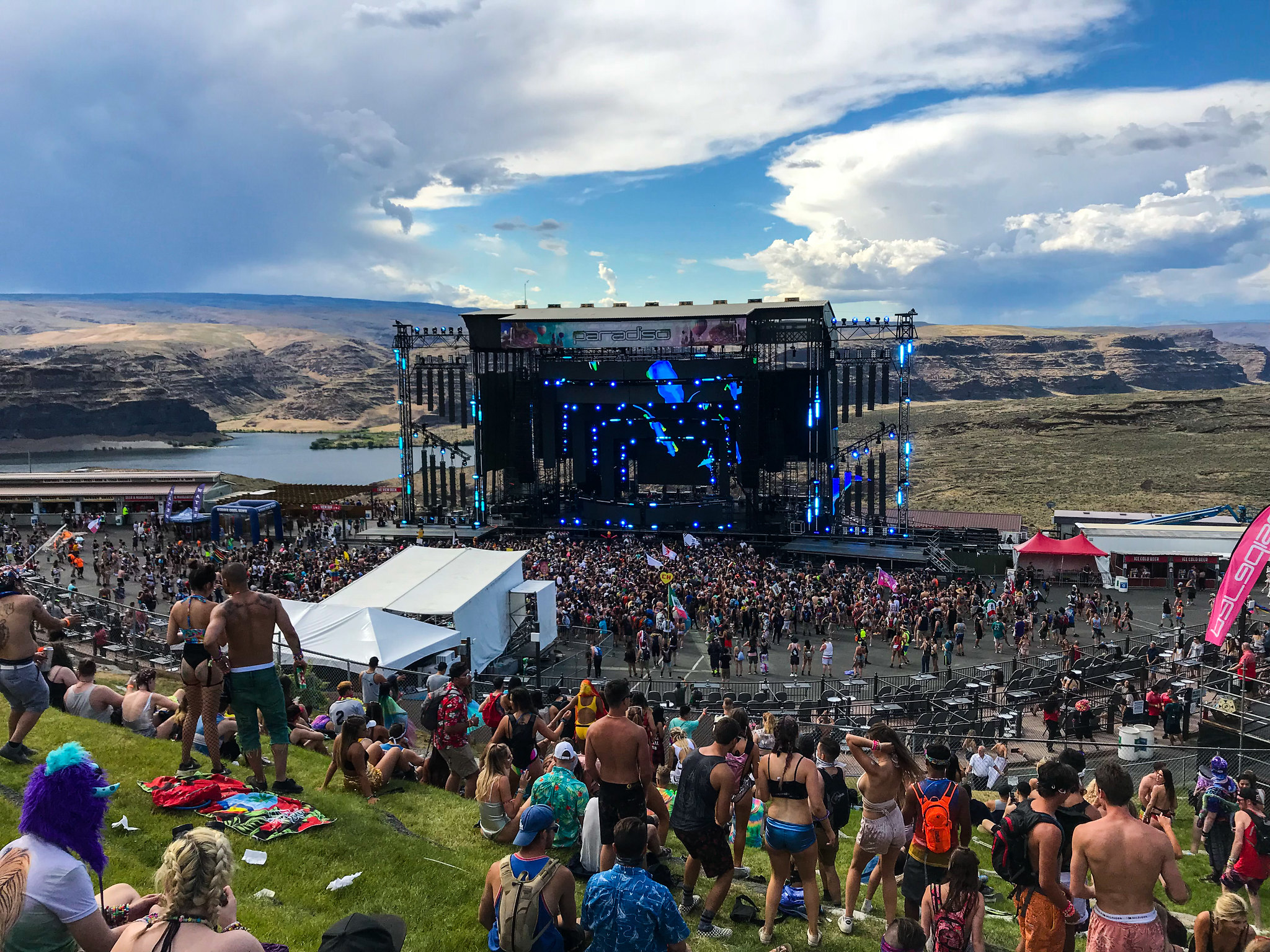 Paradiso Festival Tips: What We Learned at the Gorge - Sunshowers