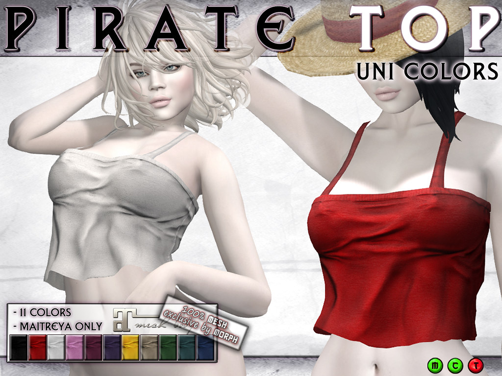 0o Morph PirateTop UNI COLOR