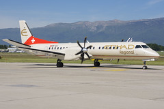 Etihad Regional (Darwin Airline) Saab 2000 HB-IZJ