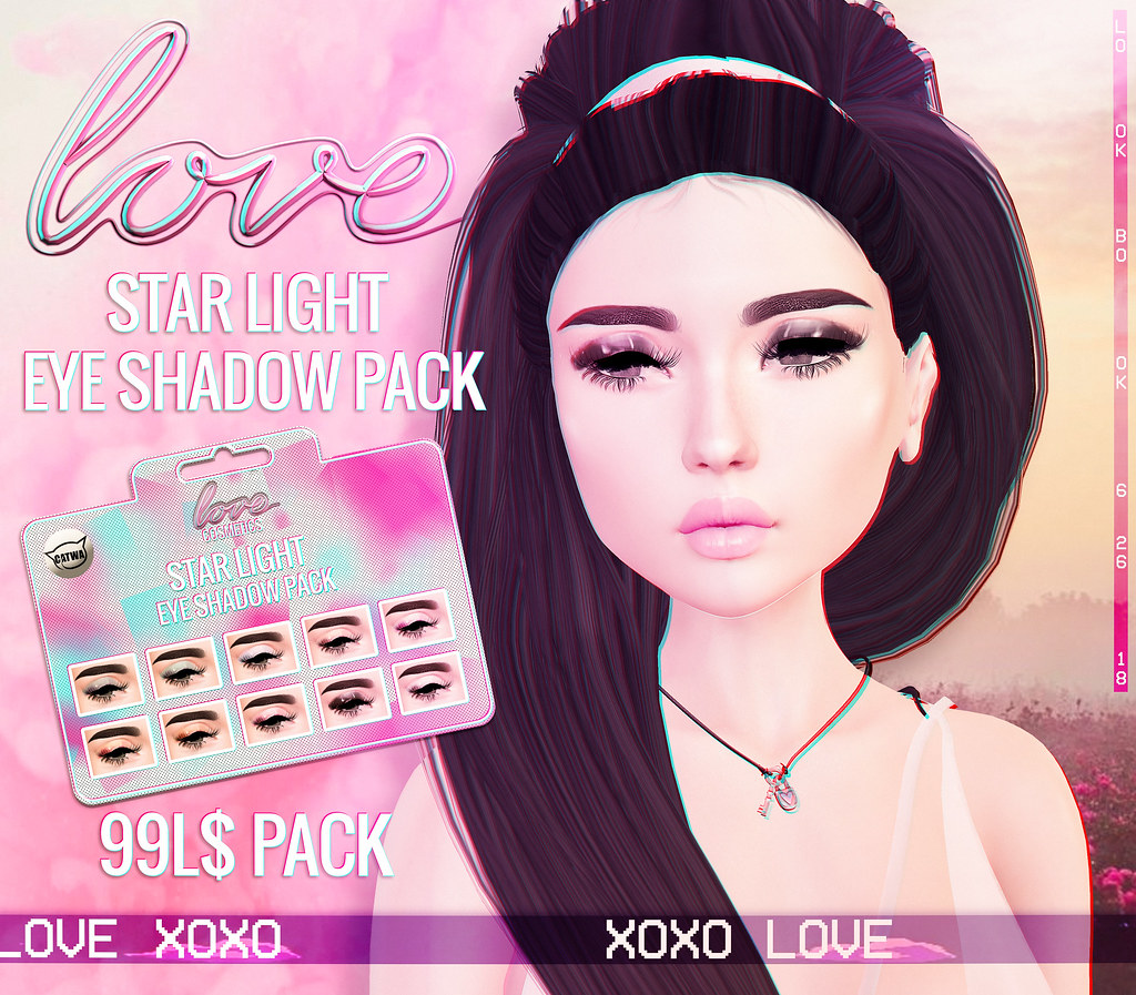 Love [Star Light] Eye Shadow Pack @ Lookbook.
