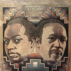 EDDIE HARRIS & LES MCCANN:SECOND MOVEMENT(JACKET A)