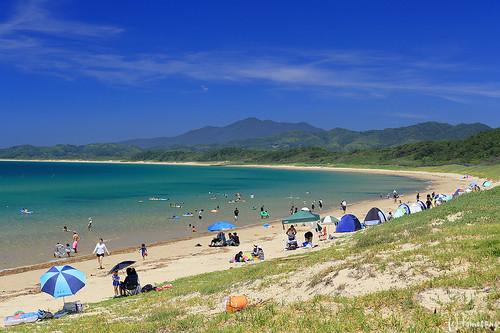 Shiraishi-hama beach