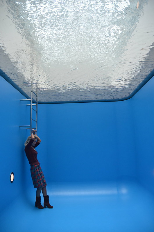 museum voorlinden - swimming pool - leandro erlich