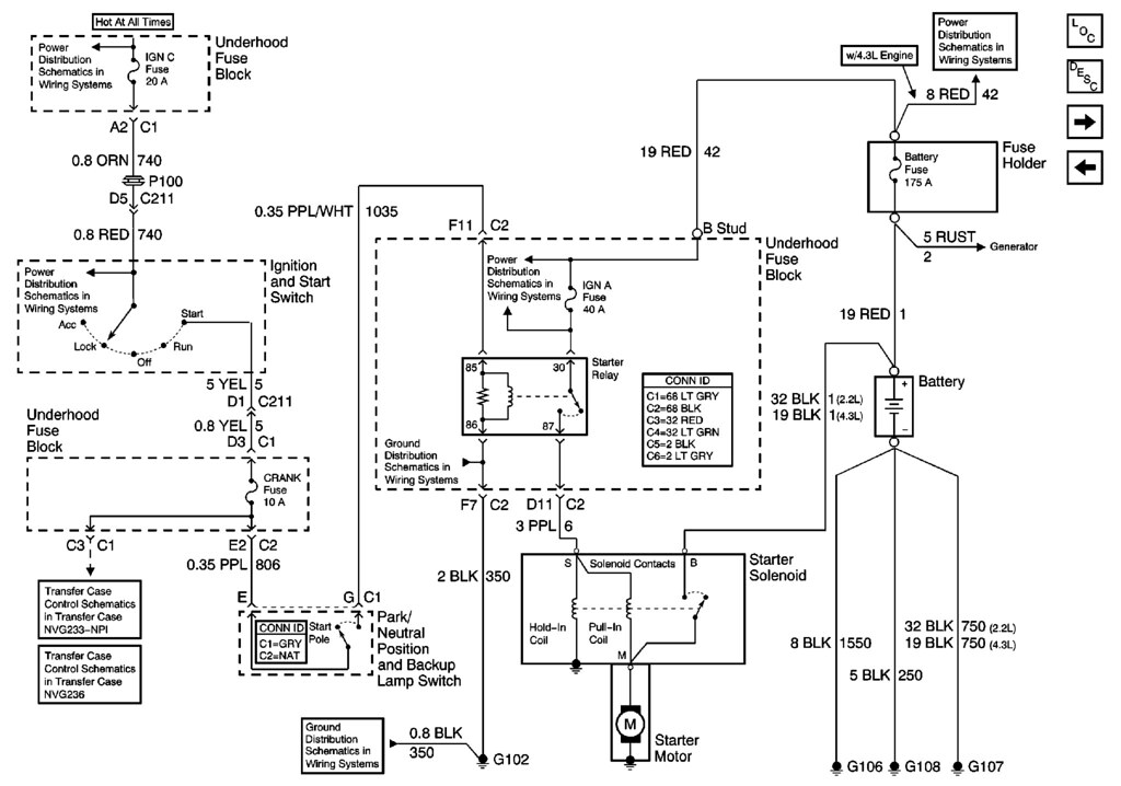 Diagram Need Help Starter Wire Ls1 To A 2000 S10