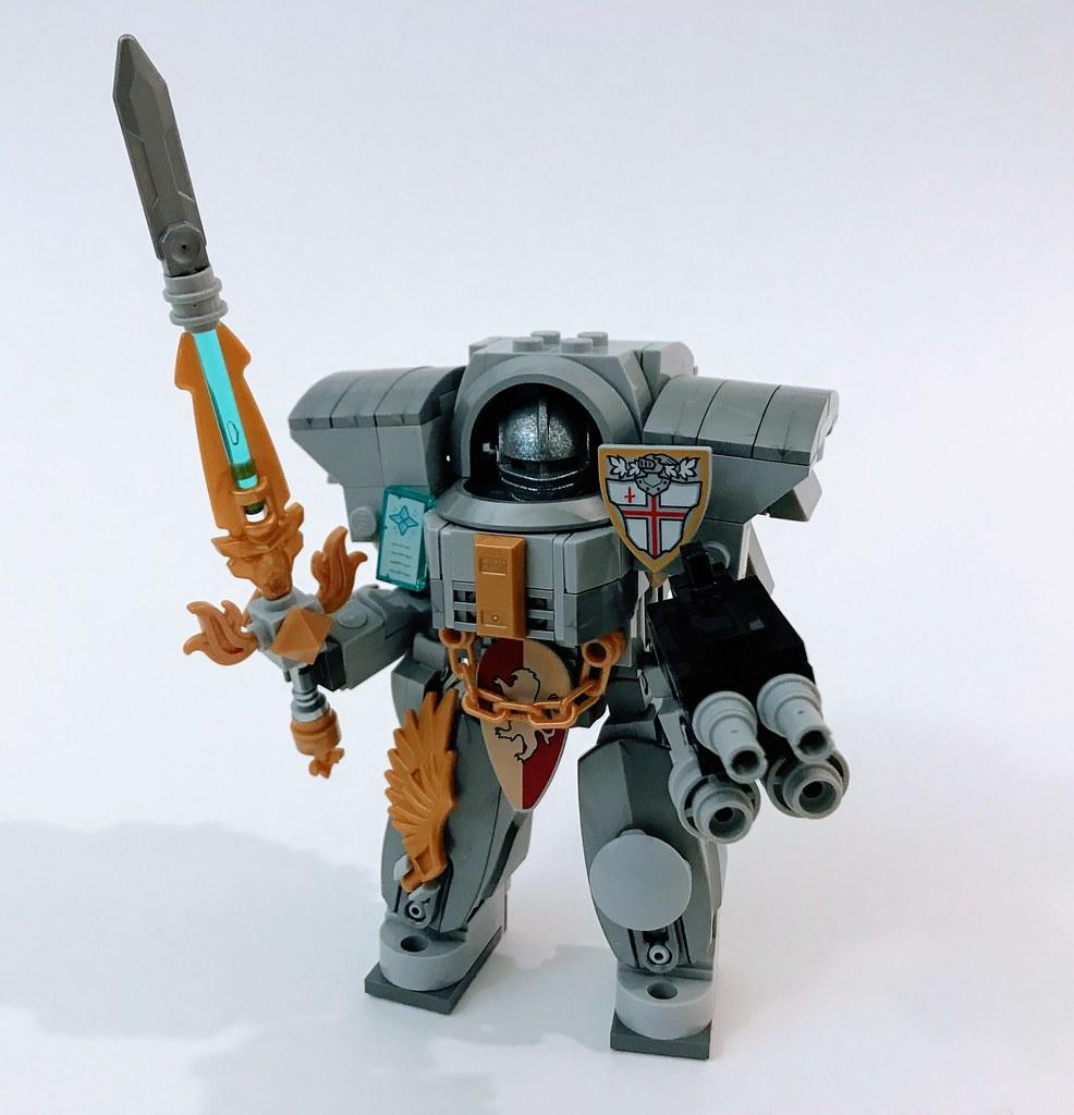 Lego Warhammer 40k Grey Knights