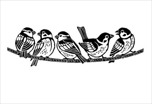 Sparrows / Воробьи