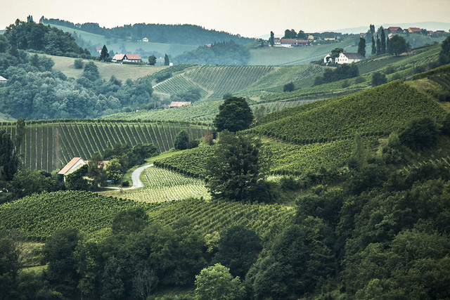 Hills of lower Styria, Canon EOS 750D, Canon EF-S 18-135mm f/3.5-5.6 IS STM