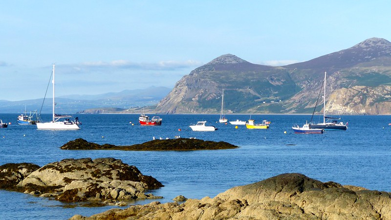 This is a picture of Morfa Nefyn beach