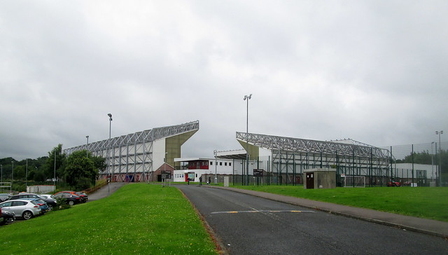 Broadwood Stadium, Cumbernauld From West Car Park