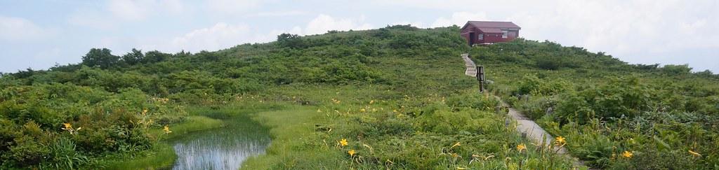 Hutte Mt. AKAUSAGIYAMA