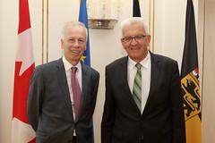 Kretschmann empfängt kanadischen Botschafter
