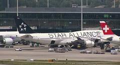 Thai Airways Boeing 747-400 HS-TGW Star Alliance special livery Zurich
