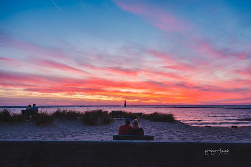 Frankfort sunset. Photographer Gregory Bozik