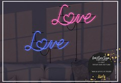 [atooly.home] love neon sign for Go! by FaMESHed