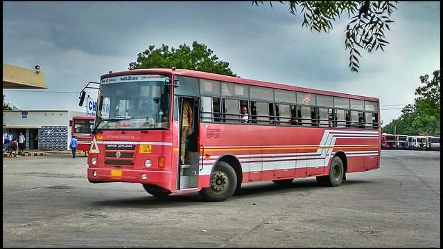 Gsrtc Gujarnagri Express Bus Mandvi to Mehsana
