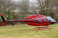 G-TGRZ Bell 206B3 Jet Ranger III [2288] (Tiger Helicopters) Cheltenham