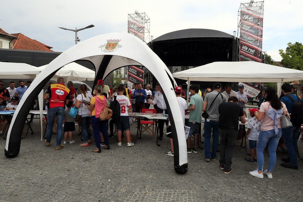 Autograph session during the 2018 FIA WTCR World Touring Car cup of Portugal, Vila Real from june 22 to 24 - Photo Paulo Maria / DPPI
