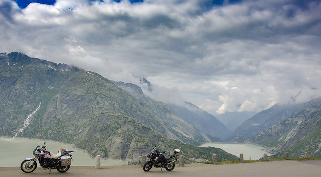 Winton Massif in the Grimsel Pass, Switzerland
