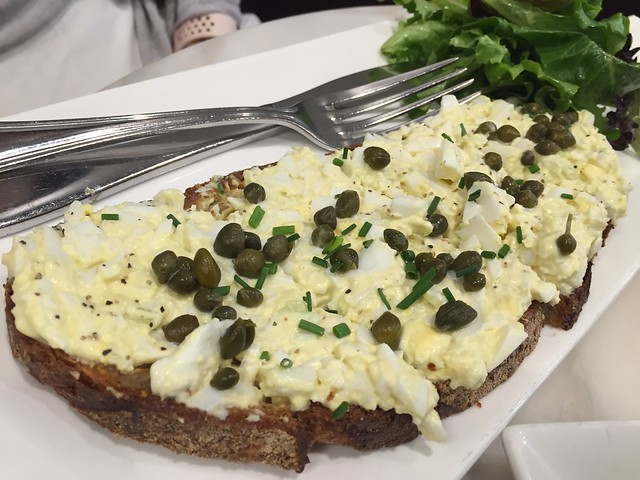 Egg Salad Tartine