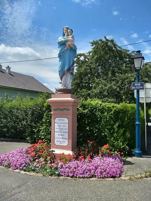 Meine Madonna von Rumersheim im Elsass