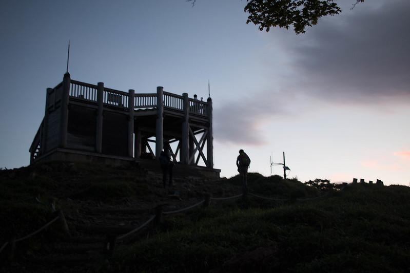 大台ヶ原 早朝の日出ヶ岳