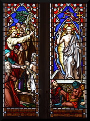 Raising of Lazarus, Resurrection of Christ (O'Connors, 1851)